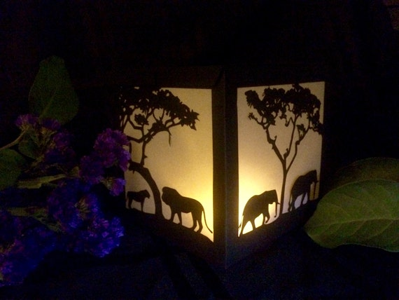 African safari lantern luminary party by shimmeringceremony