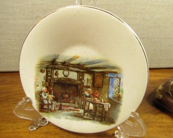 Darby and Joan - Small Plate - English Ware - Lancaster, Ltd. - Made in England
