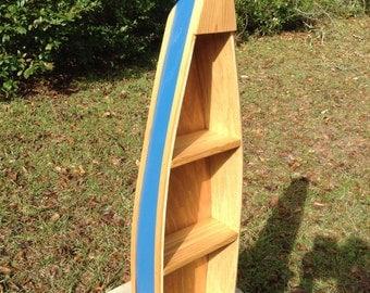 Nautical Boat Shelf Canoe Shelves Row Boat Shelf Cottage Decor