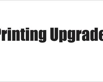 Upgrade My Printing
