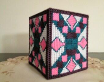 Tissue Box Cover Plastic Canvas