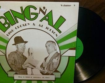 Bing n' Al Vol. 5 - May 3, 1950 & January 15, 1947 - Bing Crosby - Al Jolson - 1975
