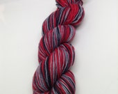 I'll Get You My Pretty Self-Striping - Hand Dyed Fingering weight yarn - Bootheel (400 yards)
