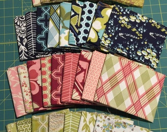 Joel Dewberry MODERN MEADOW 32 Fat Quarters NEW cotton quilting fabric set!!!