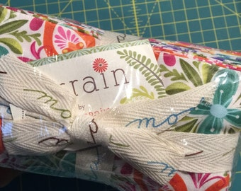 Kate Spain TERRAIN Fat Eighth 1/8 Bundle NEW cotton quilting fabric Hard to Find!