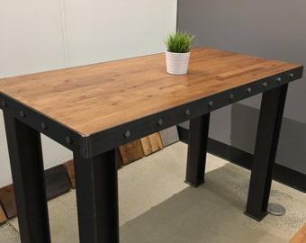 Long Island Standing Desk/ Bar top table/ Communal table