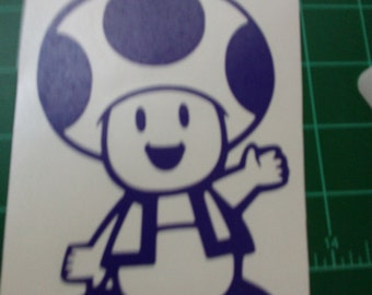 Toad Decal ( mario)