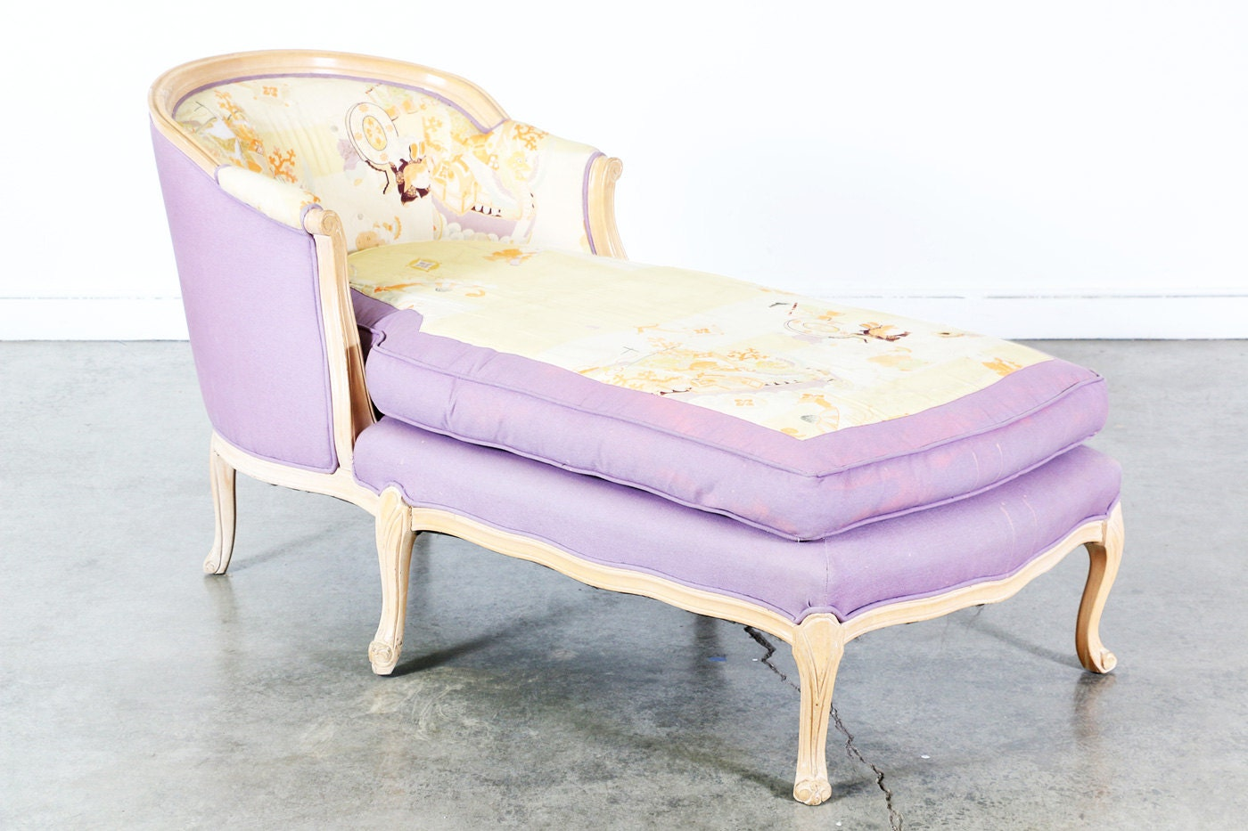 Antique french chaise lounge for Antique chaise lounges