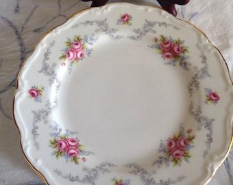 Tranquility Royal Albert salad plate