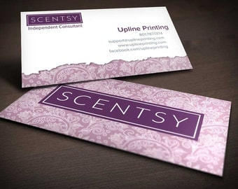 Scentsy Paisley Business Card