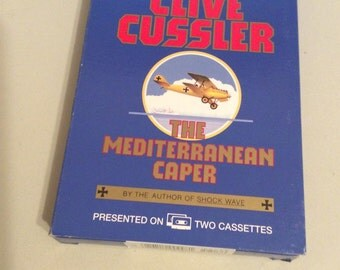 The Mediterranean Caper,Air Force Audio,Audio Mystery,Smuggling Story,Dirk Pitt, Audio Book