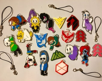 Custom Charms and Keychains