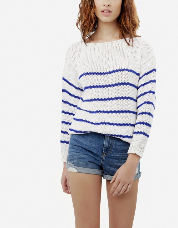 Knitting Pattern Coco Sailor Sweater