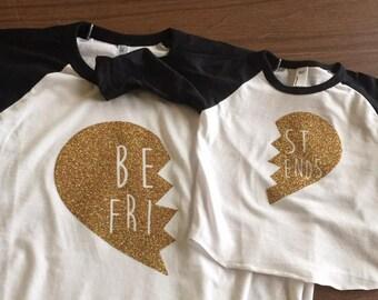 Adult & Toddler Best Friend Shirt Set