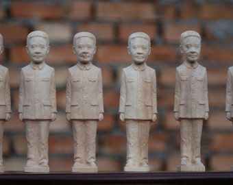 Custom MAKE TO ORDER wood carving sculpture , 3D person wood carving , wood carving art sculpture, make to order