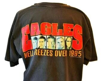 Vtg 90s Eagles Tour T/Fits Close to: L-XL