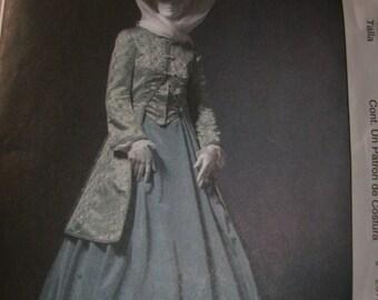 McCalls Printed Sewing Pattern ~ McCalls 4697 ~ Size 6-12 ~ 2004 Misses' Civil War Era Coat, Skirt & Shawl ~ Great for Civil War Reenactment