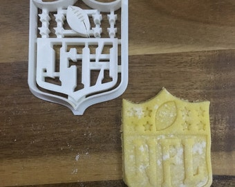 NFL 3D Printed Cookie Cutter