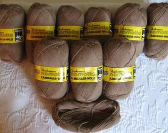 Vintage Imported Camel Hair/Wool Yarn