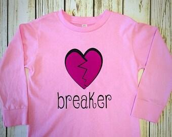 Heartbreaker Girl's Long Sleeve Tee