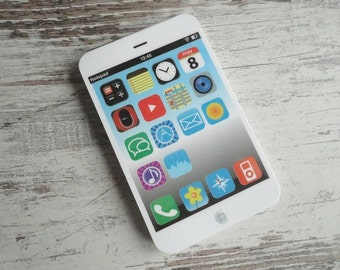 Iphone notepad white