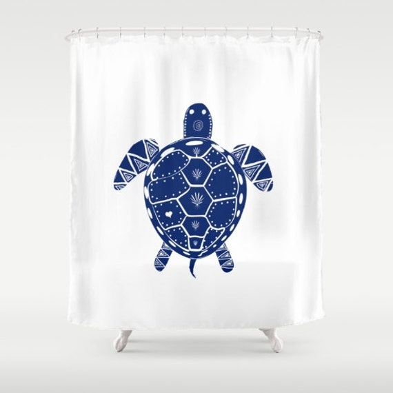Sea Turtle Shower curtains Nautical Personalized Ocean Beach Gift ...