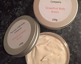 Handmade Grapefruit Body Butter