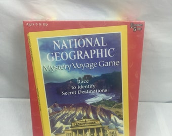 National Geographic Mystery Voyage Game NEW IN BOX