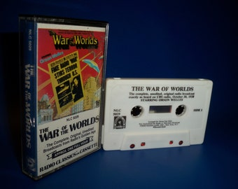 Orson Welles - The War Of The Worlds Cassette Tape