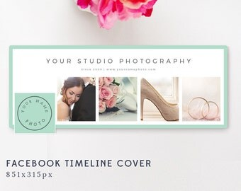 Facebook Timeline Cover - Photography Templates - Photographer Templates - Facebook Banner Design
