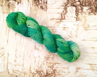 Spring Greens Tweed Yarn
