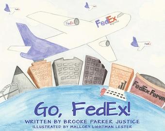 Go, FedEx! Children's Book