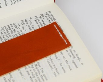 Leather Bookmark, PERSONALIZED leather bookmark, reader gift, bookmark, 3rd anniversary gift, book lover gift, leather anniversary gift