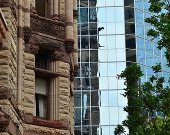 Reflections of Old City Hall