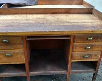 Wooden Workbench