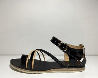 handmade leather women sandals