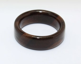 Wooden Ring Handcrafted In East Indian Rosewood