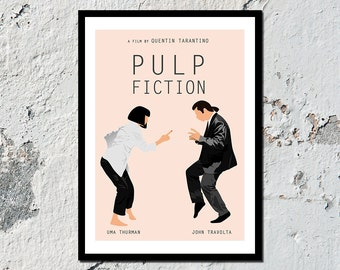 Pulp Fiction high quality film print 1 of 2 (A5, A4, A3)
