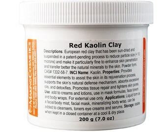 Kaolin Clay, Red
