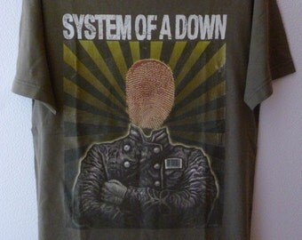 "System Of A Down-""European summer tour 2005"" t.shirt-size M"