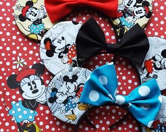 Minnie & Mickey Mouse Ears