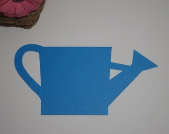 Large Watering Can Die Cuts - Garden Die Cuts - 30 PC Set -  Custom Orders Welcome! VTC-0105