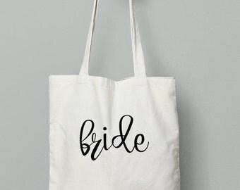 Bride Tote Bag, Bride, Wedding, Wedding tote, Bride gift