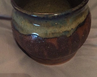 Small Textured Pot
