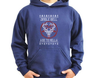Jingle bell go to hell Hoodie