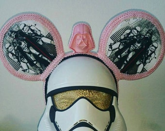 Star Wars mouse ears made using the force!