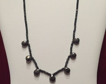 Pyrite Rock Necklace
