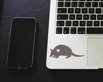 SUMMER SALE! Armadillo sticker armadillo decal Car Laptop Vinyl Decal Sticker