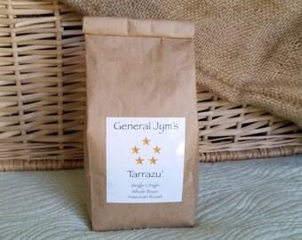 8 oz Ground General Jym's Tarrazú Coffee