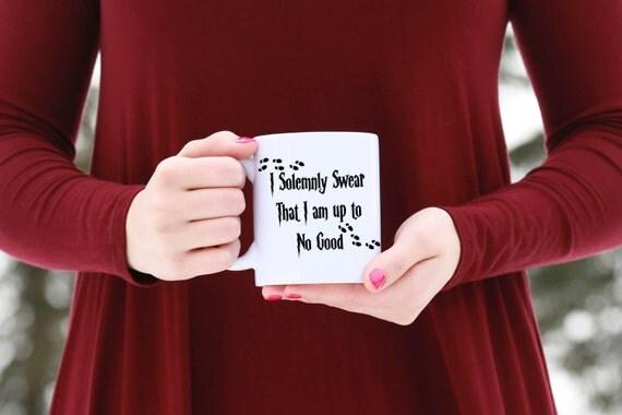 I solemnly swear I am up to no good. | HARRY POTTER Mug | Message Mugs | 11 oz.